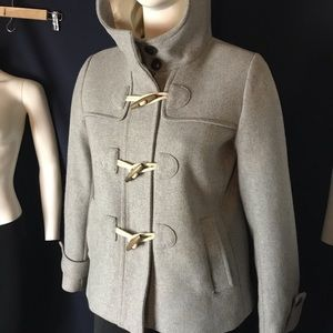 Gap Gray Wool Winter Coat